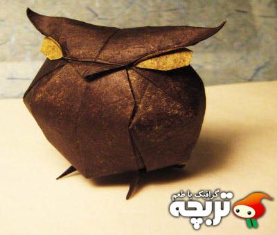 نمونه های خلاق اوریگامی Creative Origami Design