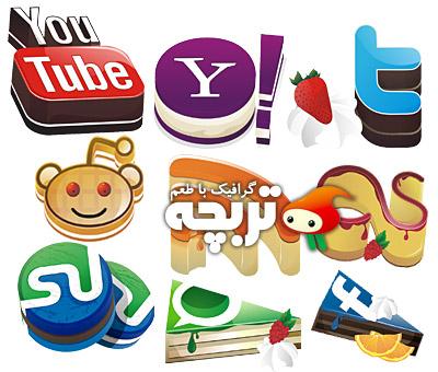 دانلود آیکون شبکه های اجتماعی Yammi Social NetWork Icon