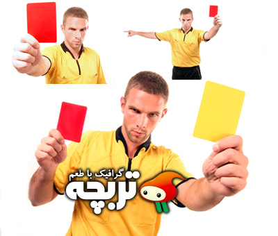 دانلود تصاویر با کیفیت داور فوتبال Football Referee ShutterStock