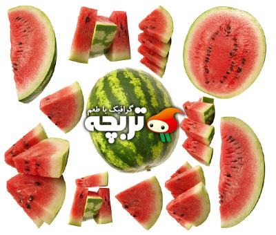 دانلود تصاویر با کیفیت هندوانه Watermelon ShutterStock