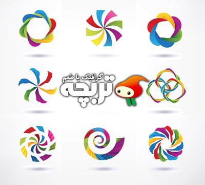 دانلود وکتور عناصر لوگو 01 Logo Design Elements Set