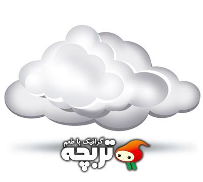 دانلود طرح لایه باز ابر سه بعدی 3D Cloud PSD Layout
