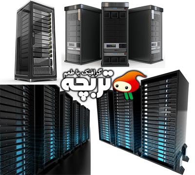 دانلود تصاویر با کیفیت سرور Server ShutterStock