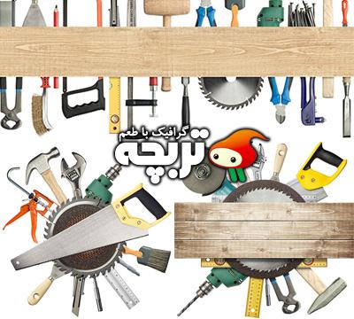 دانلود تصاویر با کیفیت ابزار نجاری WoodWorking Tools ShtterStock
