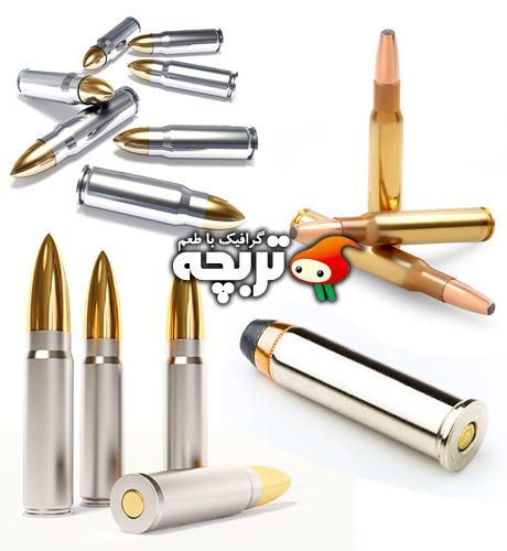 دانلود تصاویر با کیفیت گلوله Bullets ShutterStock