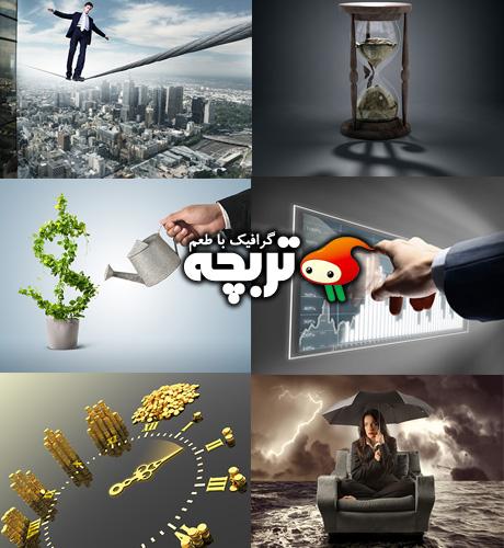 دانلود تصاویر با کیفیت مفهومی کسب و کار Business Concepts ShutterStock Part 01