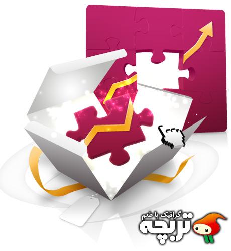 دانلود طرح لایه باز راه حل مفهومی کسب و کار Business Solution Concept PSD
