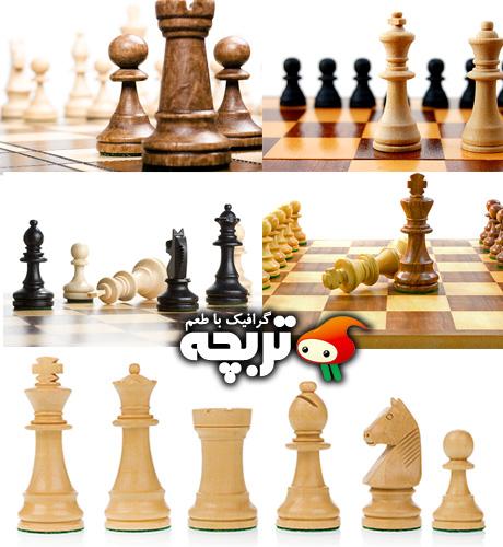 تصاویر با کیفیت شطرنج  Chess ShutterStock Photos
