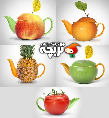 تصاویر استوک مفهومی قوری Concept Teapot ShutterStock