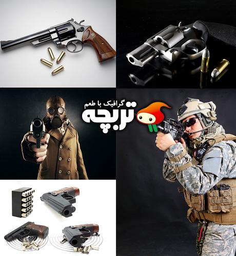 دانلود تصاویر با کیفیت اسلحه Guns ShutterStock