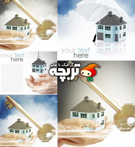 دانلود تصاویر با کیفیت املاک و مستقلات Real Estate ShutterStock