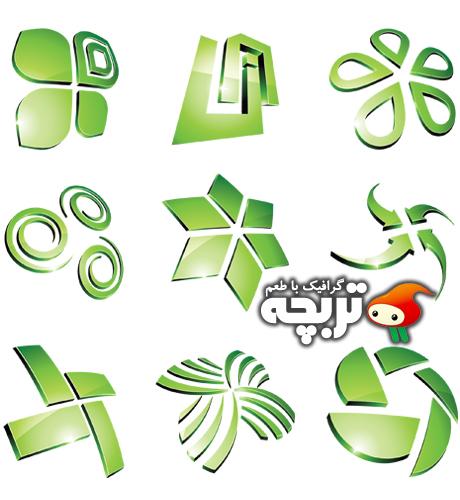 وکتور لوگوی سبز