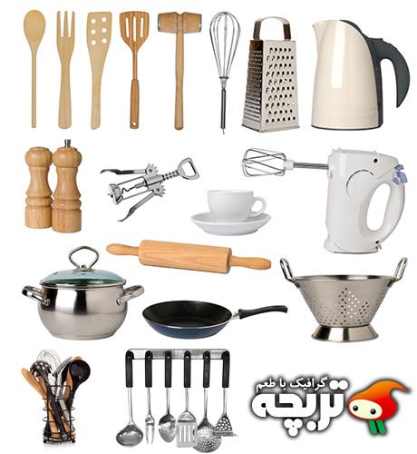 دانلود تصاویر با کیفیت وسائل آشپزخانه Kitchen Untensils ShutterStock