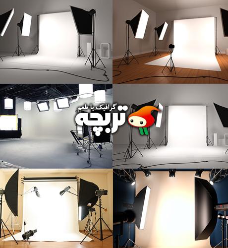 دانلود تصاویر با کیفیت استودیو عکاسی Photo Studio Fotolia