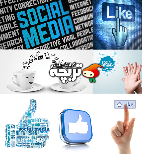 دانلود تصاویر با کیفیت شبکه اجتماعی Social NetWork ShutterStock