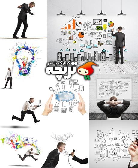 دانلود تصاویر با کیفیت ایده کسب و کار خلاق Creative Business Idea ShutterStock