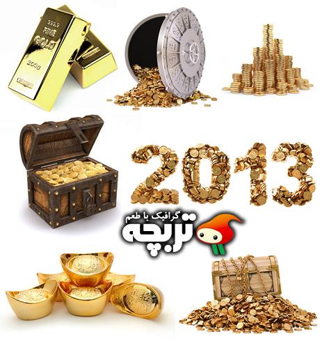 دانلود تصاویر با کیفیت طلا Gold Collection ShutterStock