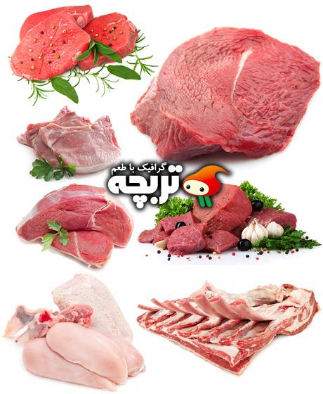 دانلود تصاویر با کیفیت گوشت Meat ShutterStock Images