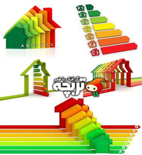 دانلود تصاویر با کیفیت برچسب انرژی Performance Scale ShutterStock