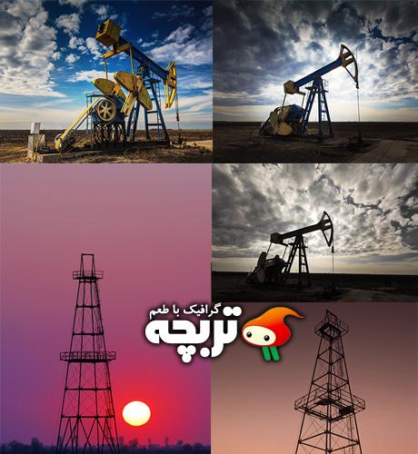 دانلود تصاویر با کیفیت استخراج نفت Extraction Oil Fotolia