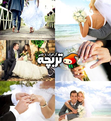 دانلود تصاویر با کیفیت ازدواج Wedding Collection Fotolia Images