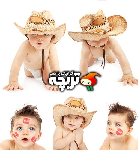 دانلود تصاویر با کیفیت پسر بچه CowBoy Boy Stock Images