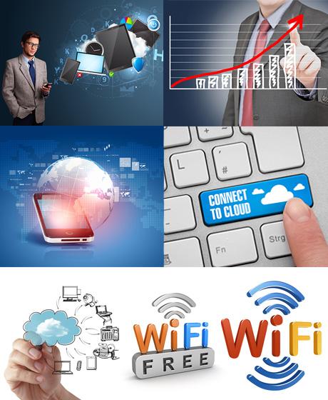 دانلود تصاویر با کیفیت فناوری اطلاعات Information Fotolia Stock Images