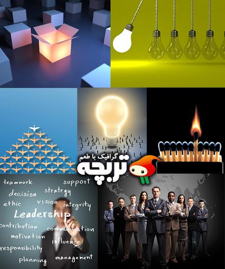 دانلود تصاویر استوک مفهومی رهبری LeaderShip ShutterStock Images