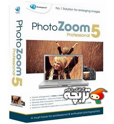 دانلود نرم افزار بزرگ کردن تصاویر بدون کاهش کیفیت PhotoZoom Pro 5.1.0