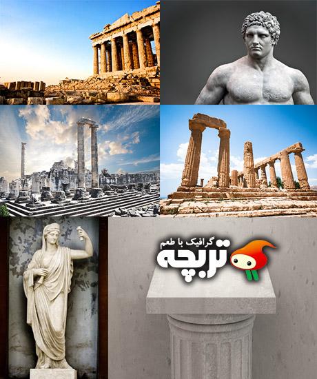 دانلود تصاویر با کیفیت معماری باستانی Antique Architecture ShutterStock