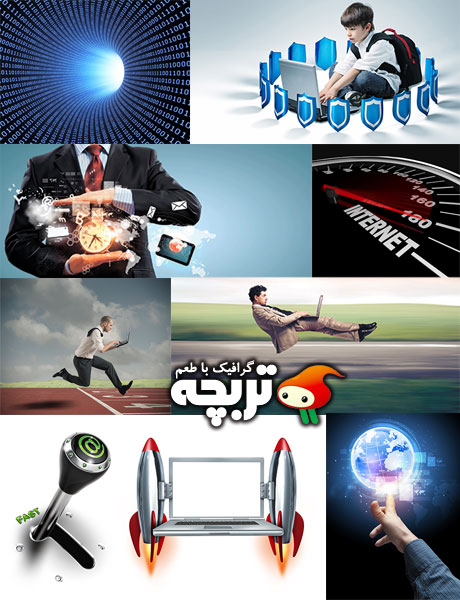 دانلود تصاویر با کیفیت اینترنت Be Online ShutterStock