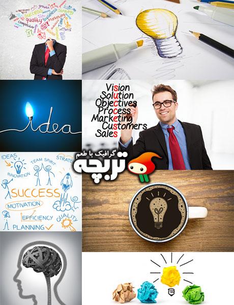 دانلود تصاویر با کیفیت بهترین ایده Best Idea Fotolia Stock Images