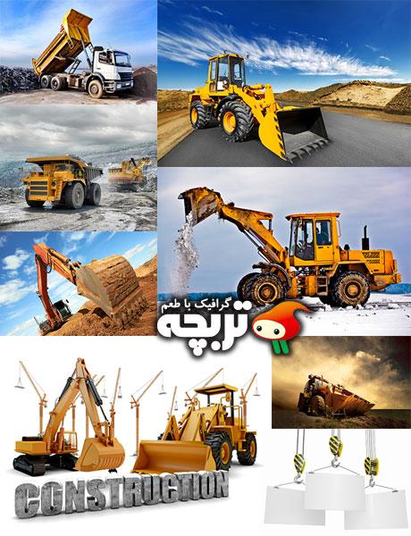 دانلود تصاویر با کیفیت ساخت و ساز  و ماشین آلات Construction Machinery