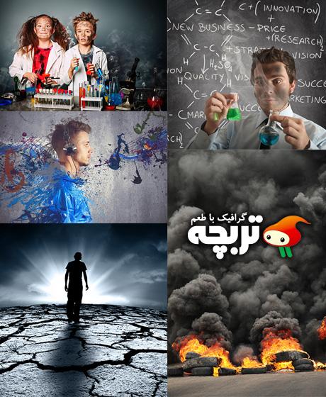 دانلود تصاویر با کیفیت انفجار Explosion Fotolia Stock Images