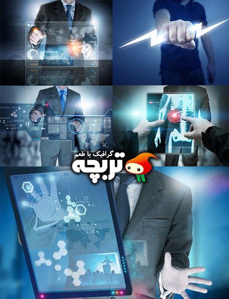 دانلود تصاویر با کیفیت تکنولوژی Technology Fotolia Stock Images