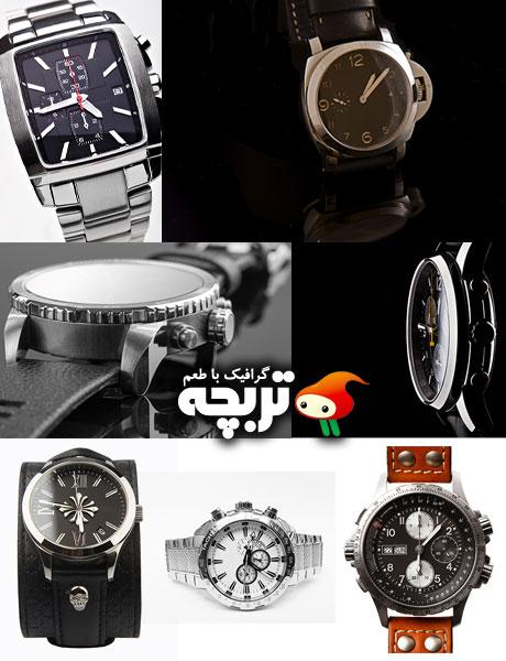 دانلود تصاویر با کیفیت ساعت مچی Wrist Watches Fotolia Images