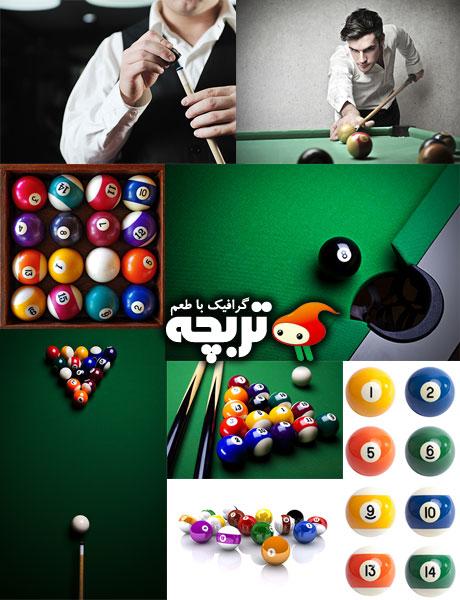 دانلود تصاویر با کیفیت بیلیارد Billiard Club ShutterStock