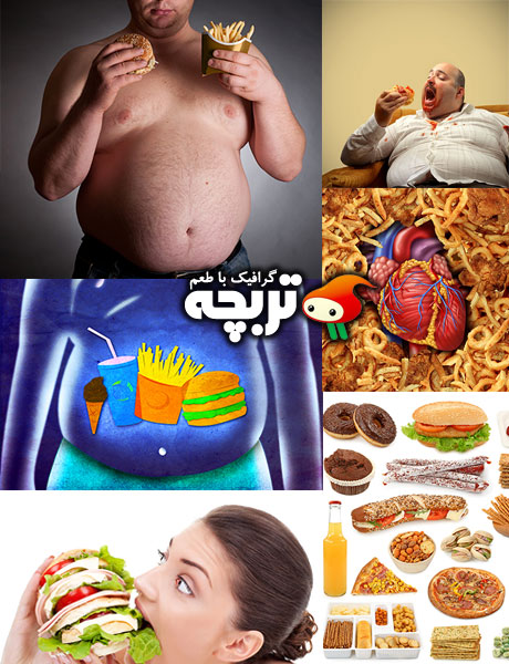 دانلود تصاویر با کیفیت تنقلات Junk Food ShutterStock