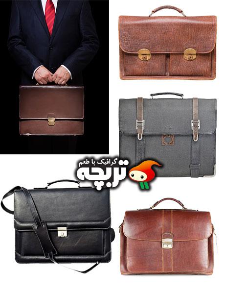 دانلود تصاویر با کیفیت کیف چرمی Leather Briefcase Images