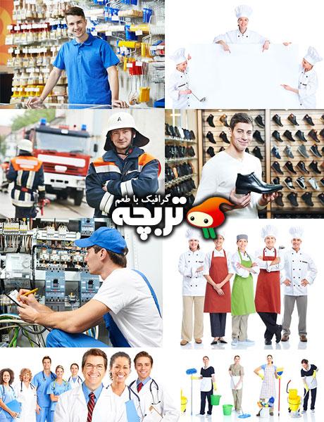 دانلود تصاویر با کیفیت مشاغل مختلف Profession Fotolia Images