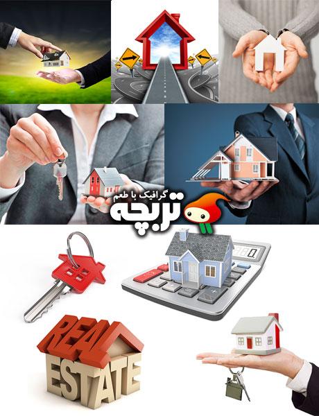 دانلود تصاویر با کیفیت املاک و مستقلات Real Estate Agency ShutterStock