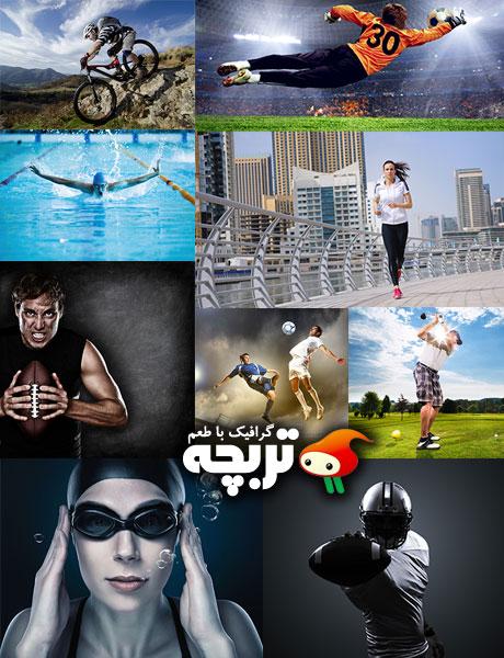 دانلود تصاویر با کیفیت رشته های ورزشی Sport Collection Fotolia