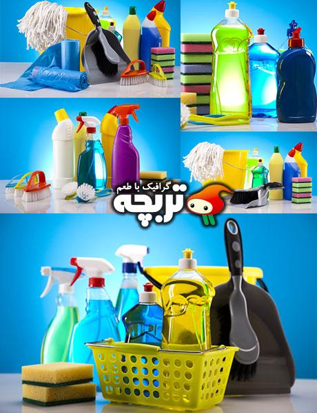 دانلود تصاویر با کیفیت تجهیزات تمیز کردن Cleaning Equipment Stock Photos