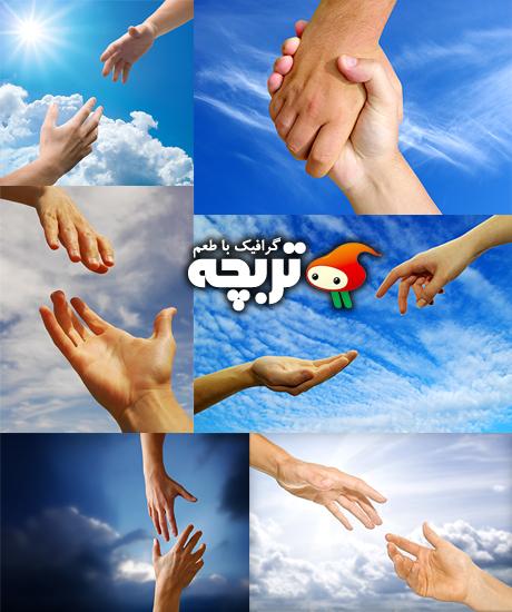 دانلود تصاویر با کفیت کمک دست ShutterStock Helping Hand