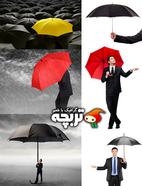 دانلود تصاویر با کیفیت چتر ShutterStock Umbrellas Photos