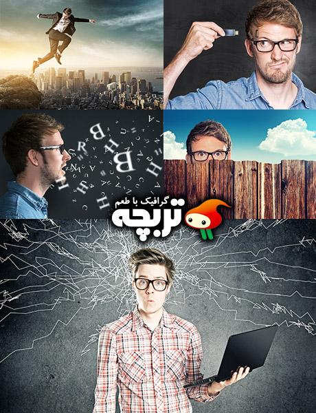 تصاویر با کیفیت برنامه نویس مغشوش Confused Programmer Stock Photos