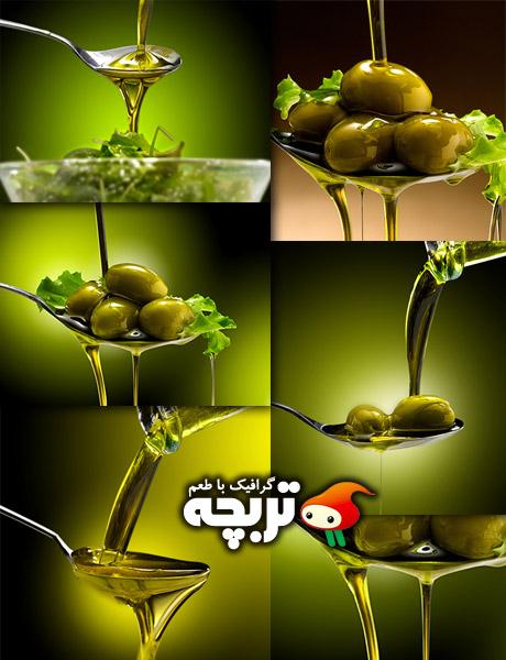 دانلود تصاویر با کیفیت زیتون و روغن زیتون Oil And Olive Stock Photos