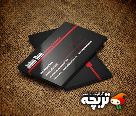 طرح لایه باز کارت ویزیت 18 Corporate Business Card Part