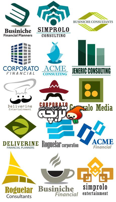 دانلود 50 لوگوی مختلف لایه باز 50 Fully Layered Logo Templates