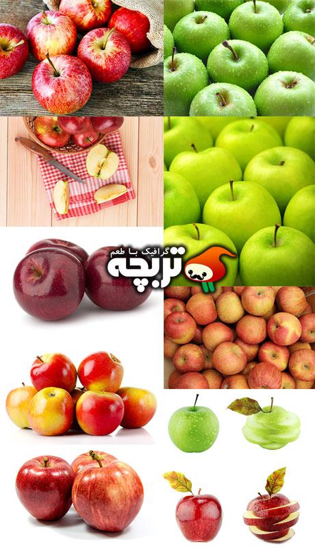 دانلود تصاویر با کیفیت سیب Apples ShutterStock Imgaes